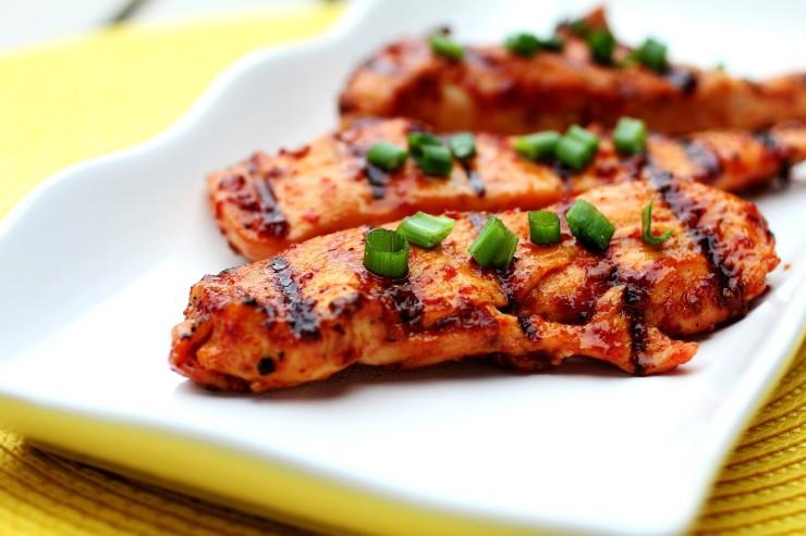 stekt kyckling