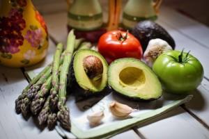 Vegansk matkasse grönsaker